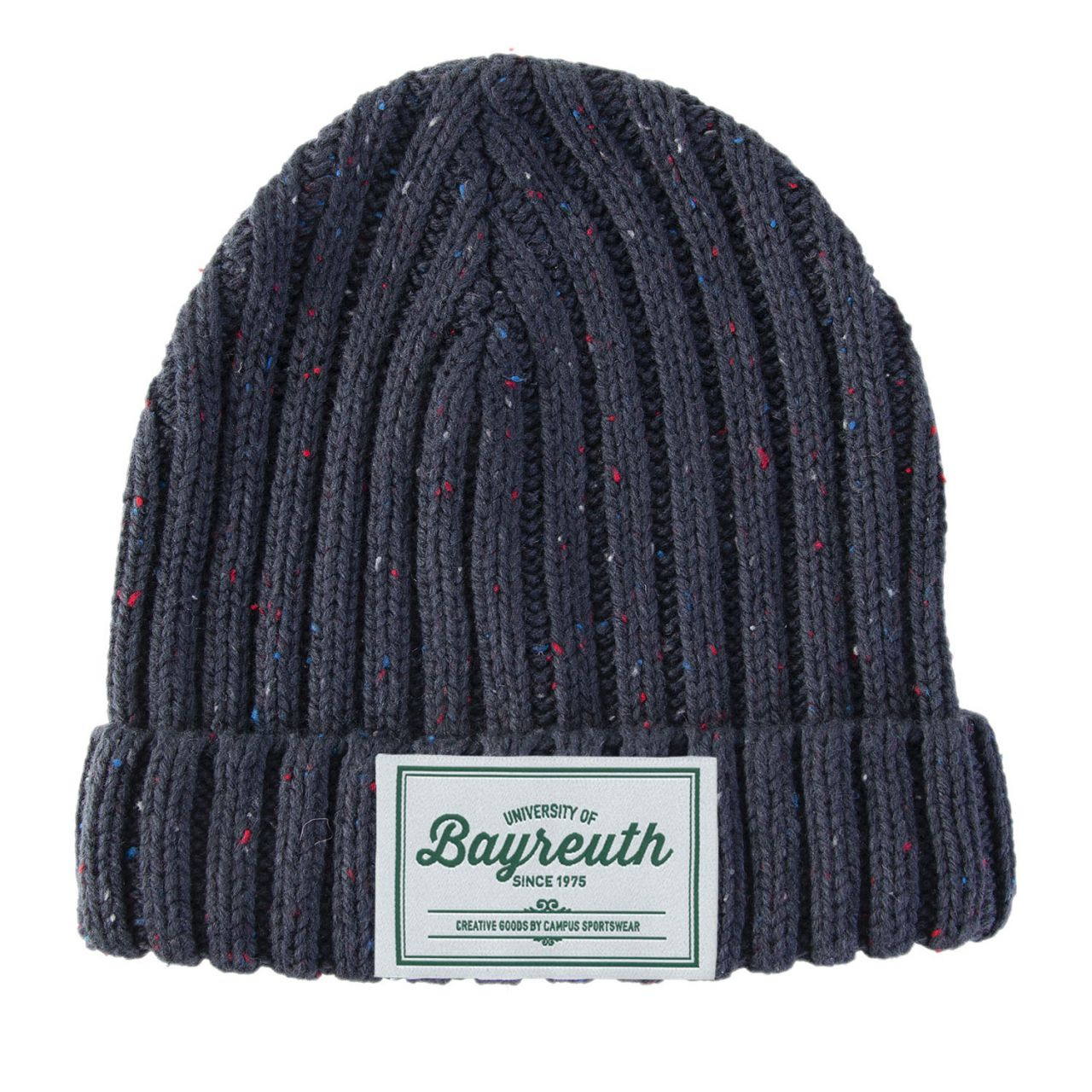 Strickmütze, navy, label